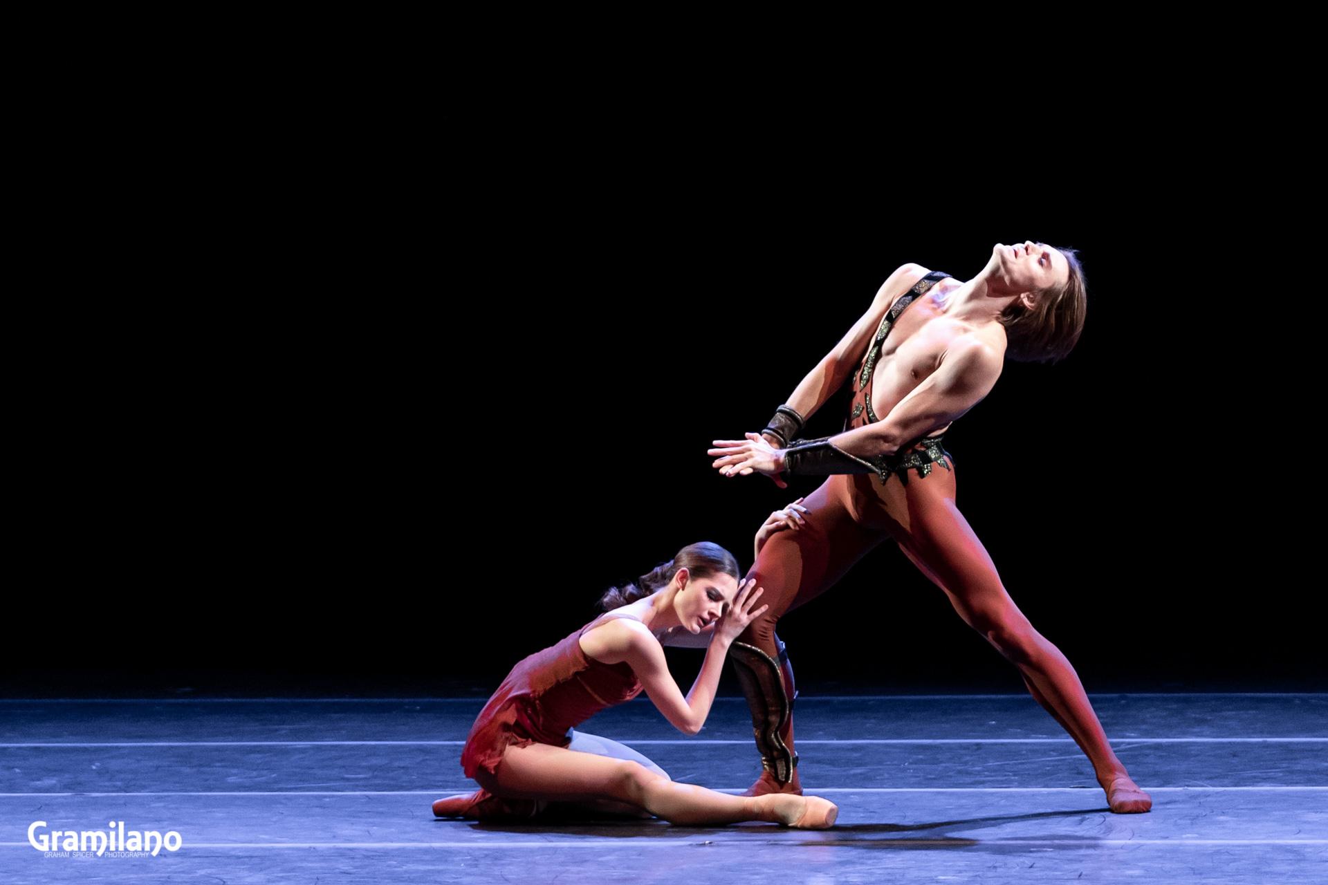 Denis Rodkin and Eleonora Sevenard in Spartacus