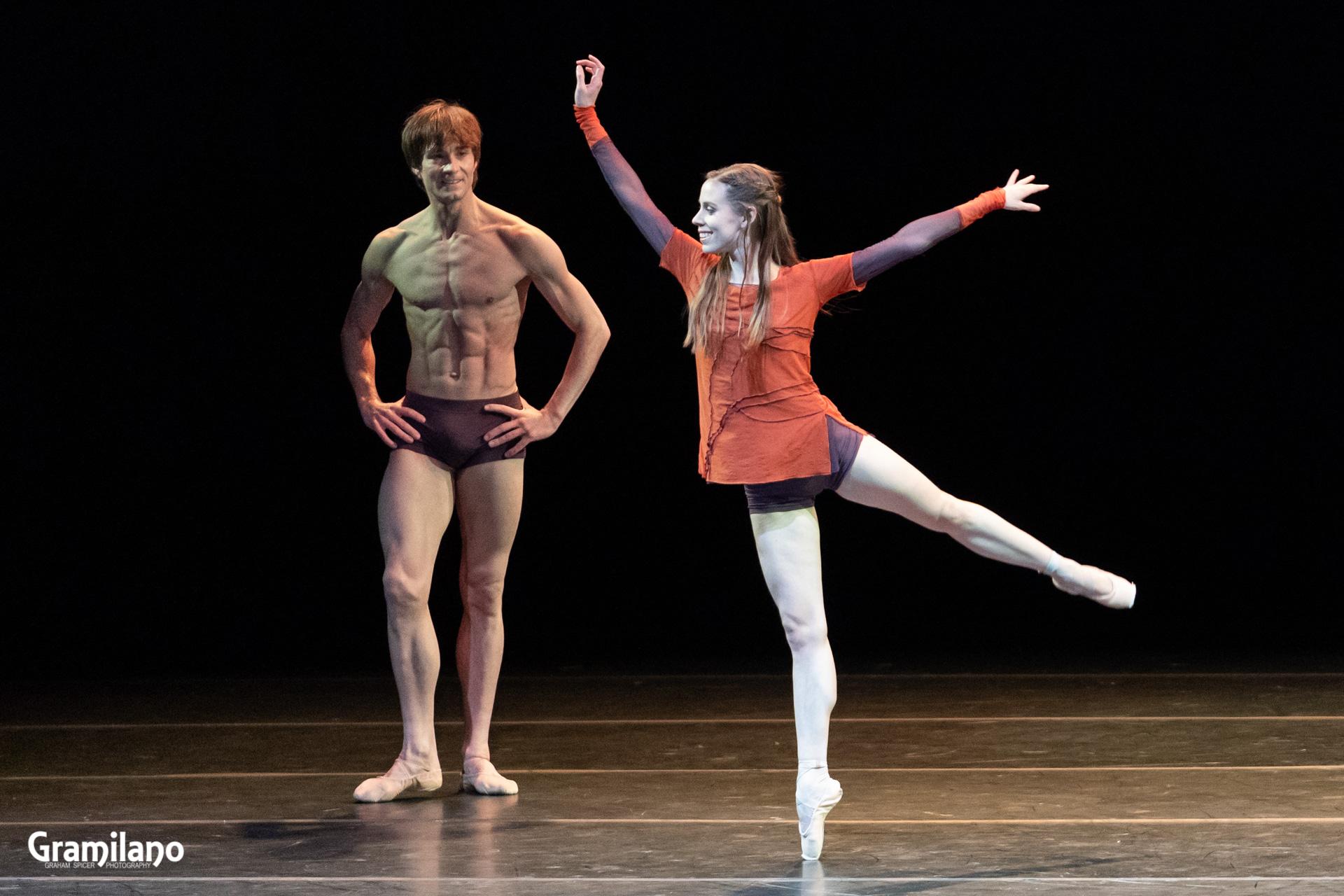 Elisa Badenes and Friedemann Vogel in Mono Lisa