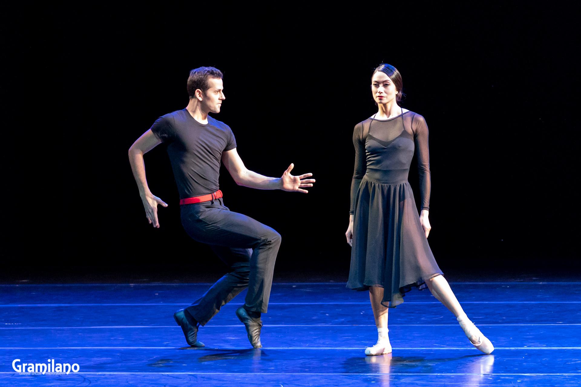 Robert Fairchild and Stella Abrera in An American in Paris