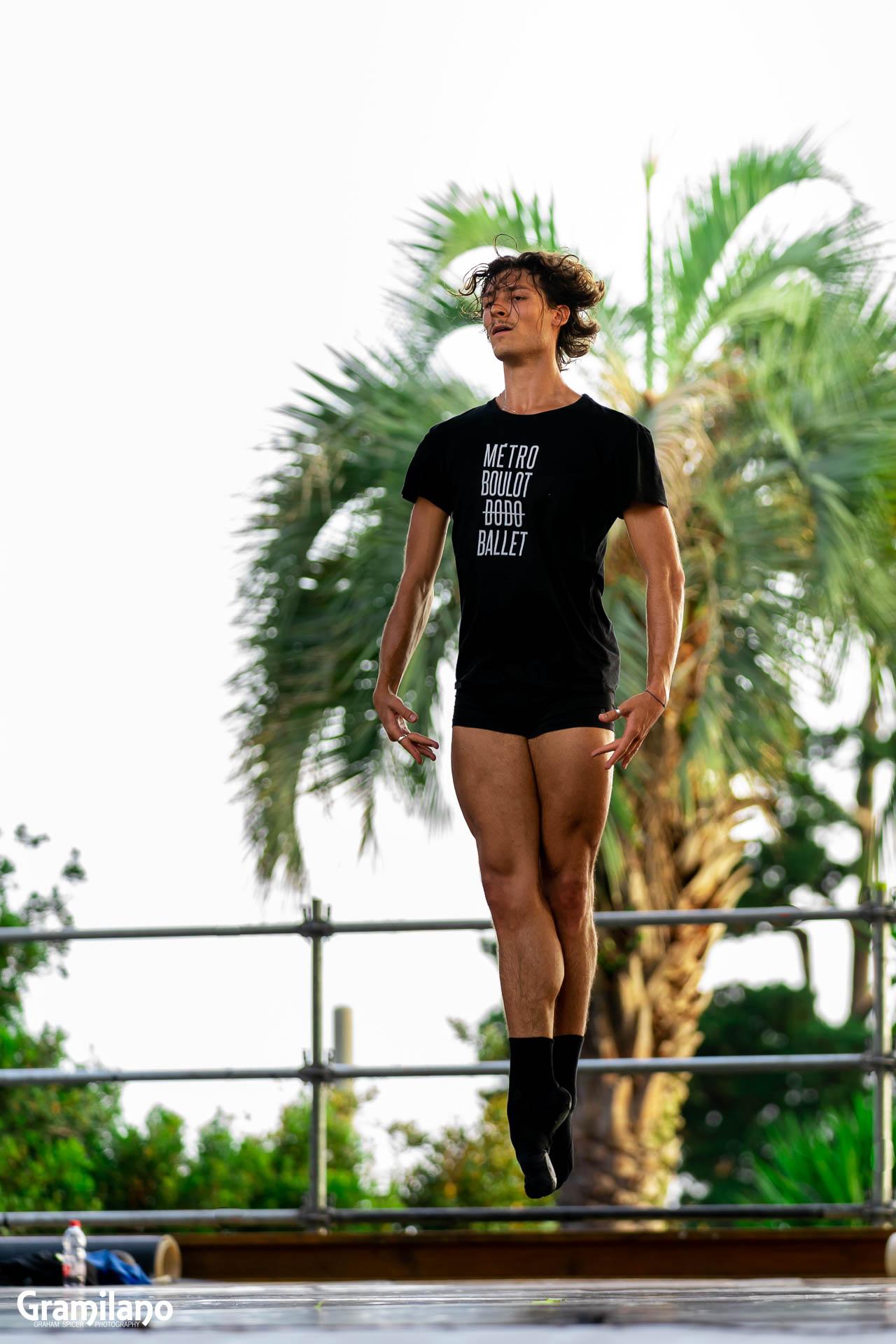 Hugo Marchand ballet class
