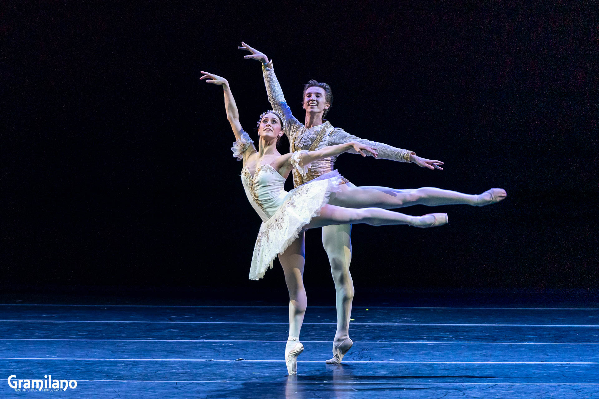 Marianela Nuñez and Vadim Muntagirov in The Sleeping Beauty