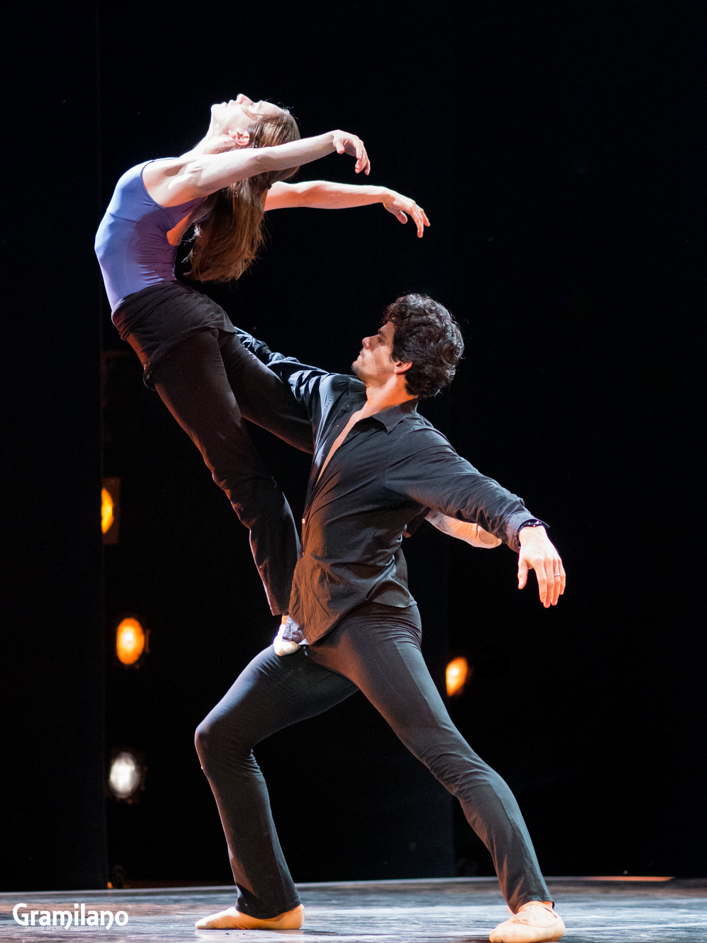 Marianela Nuñez and Thiago Soares in Christopher Wheeldon's After the Rain