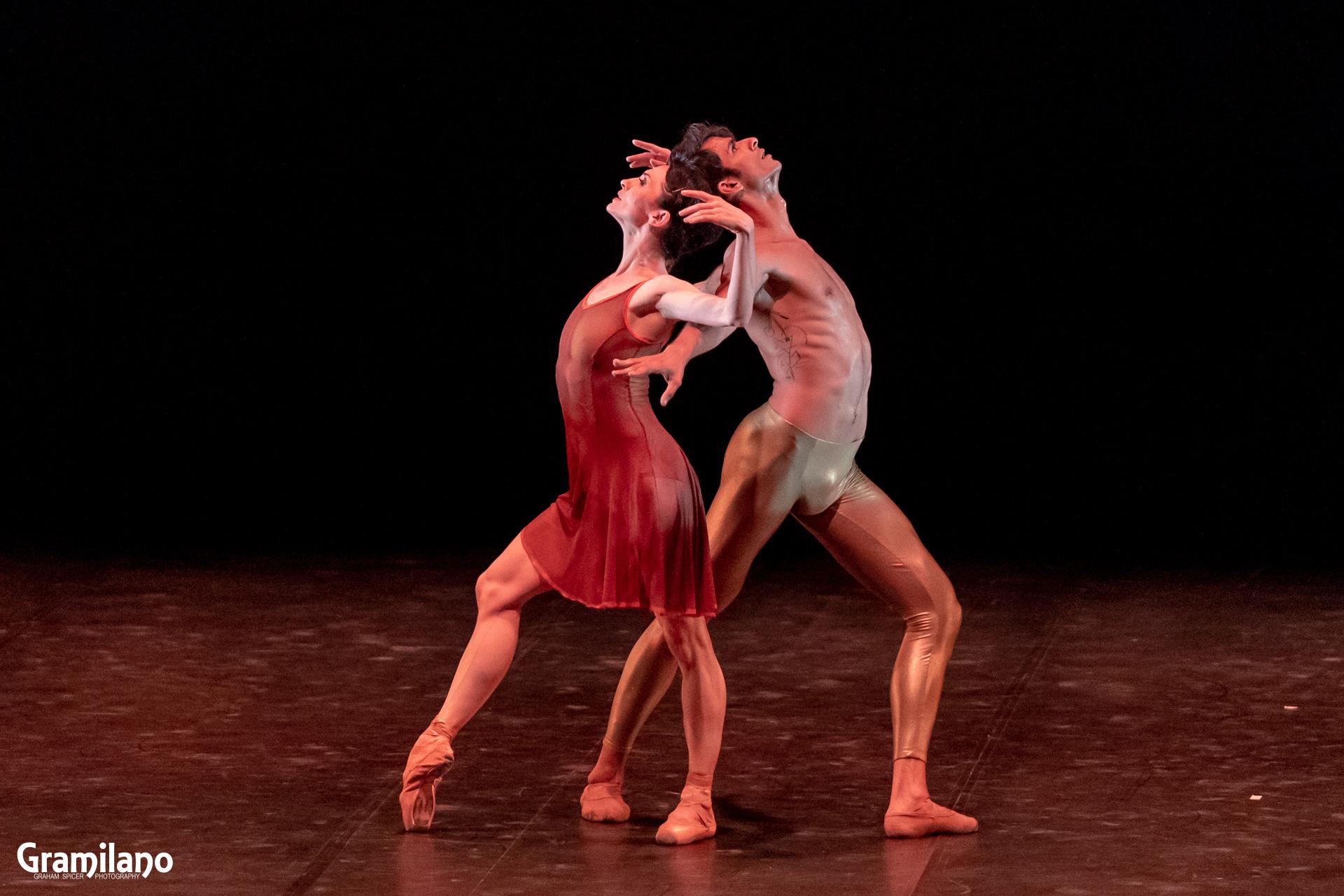Anna Tsygankova and Constantine Allen in Christopher Wheeldon's Duet