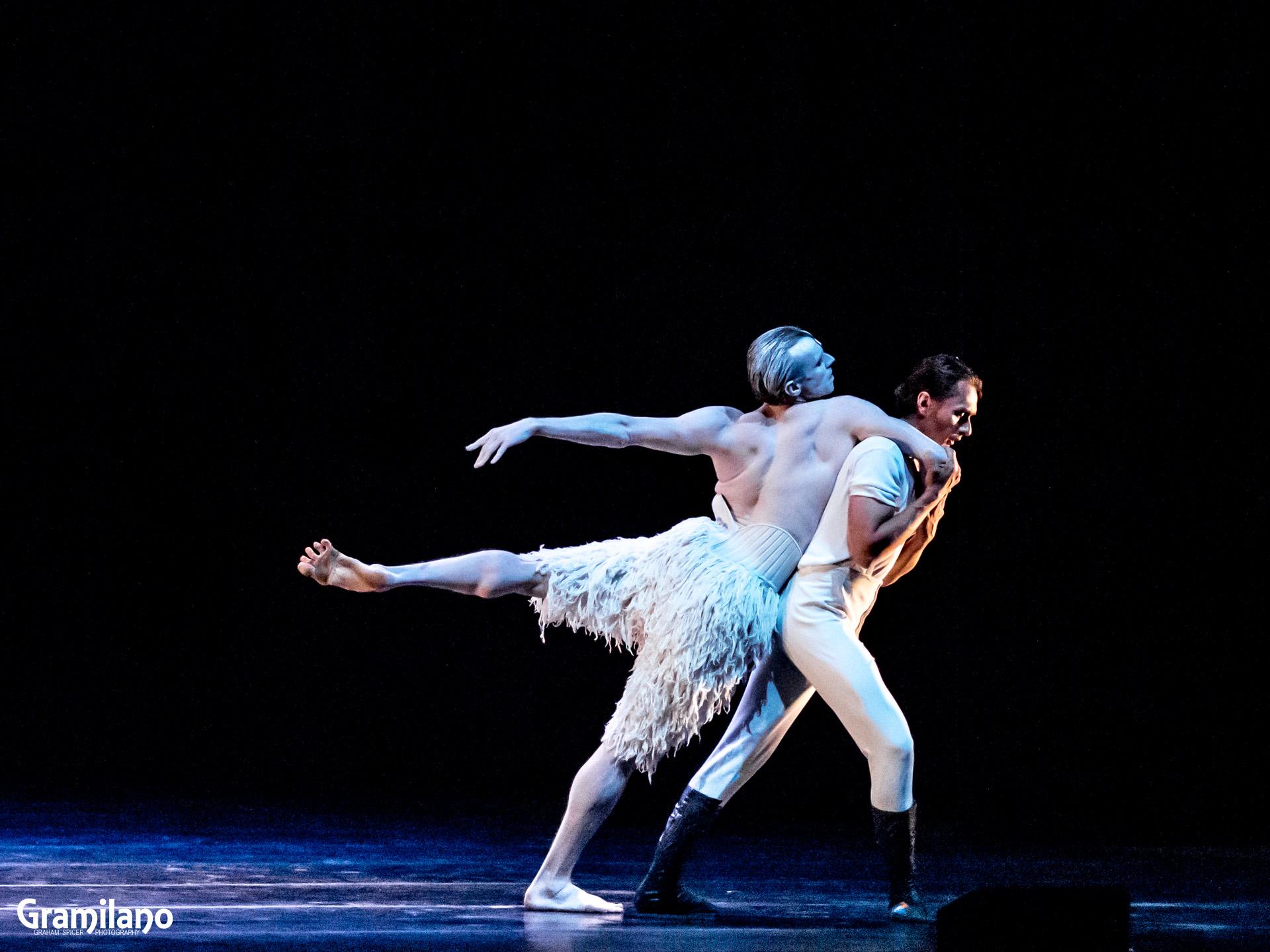 Edward Watson and Ivan Putrov in Matthew Bourne's Swan Lake