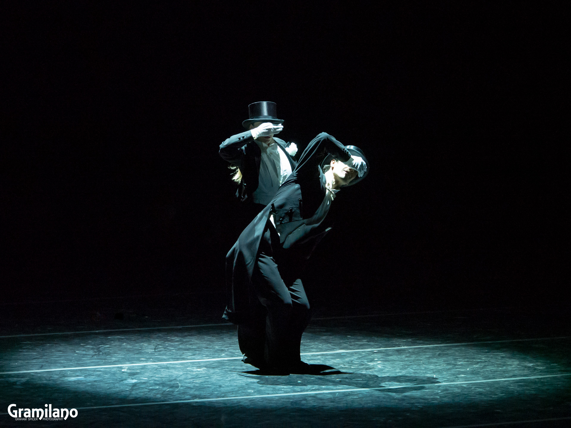 Silvia Azzoni and Oleksandr Ryabko in John Neumeier's Shall We Dance