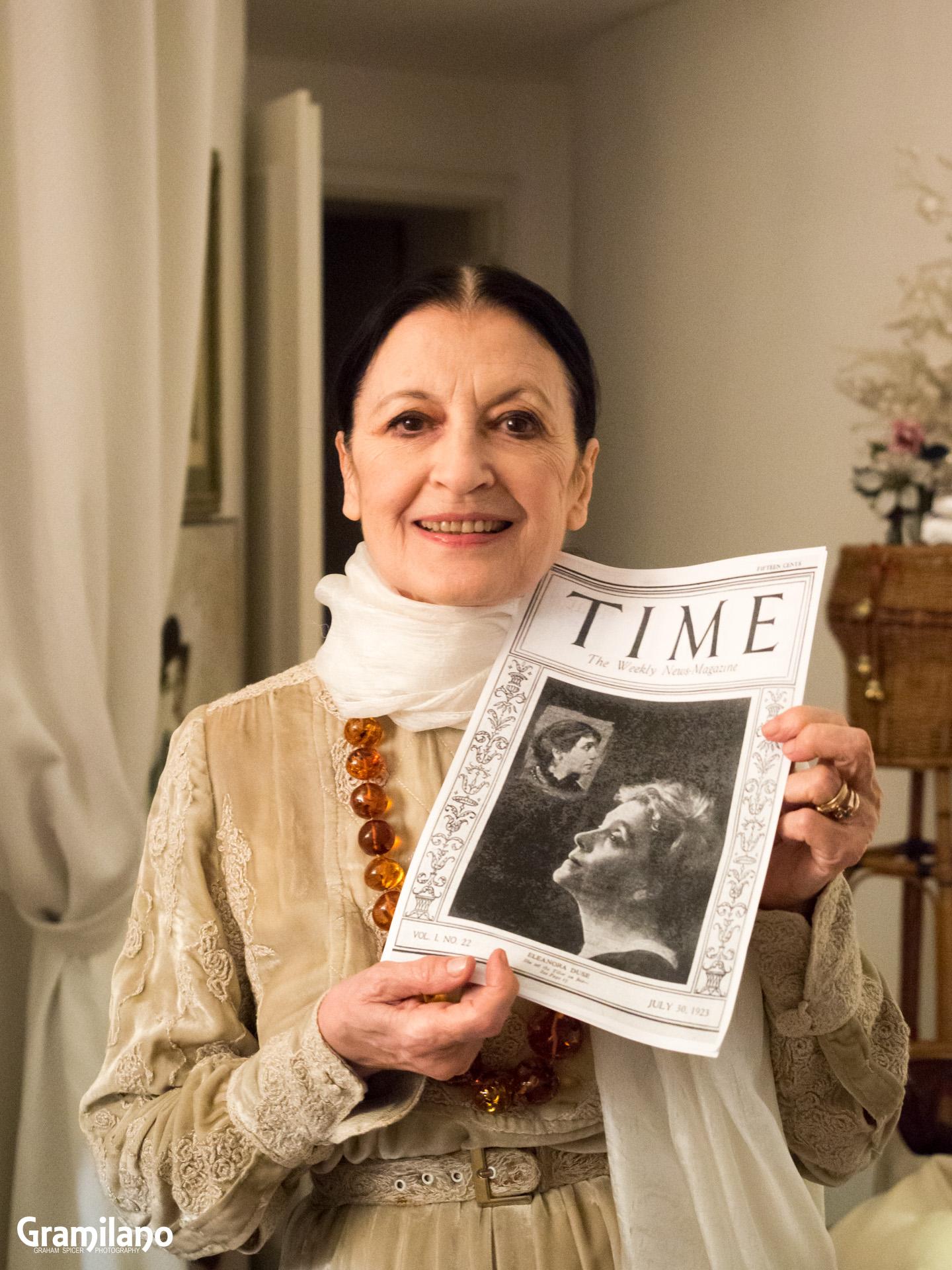 Carla Fracci (La Scala Ballet - American Ballet Theatre)