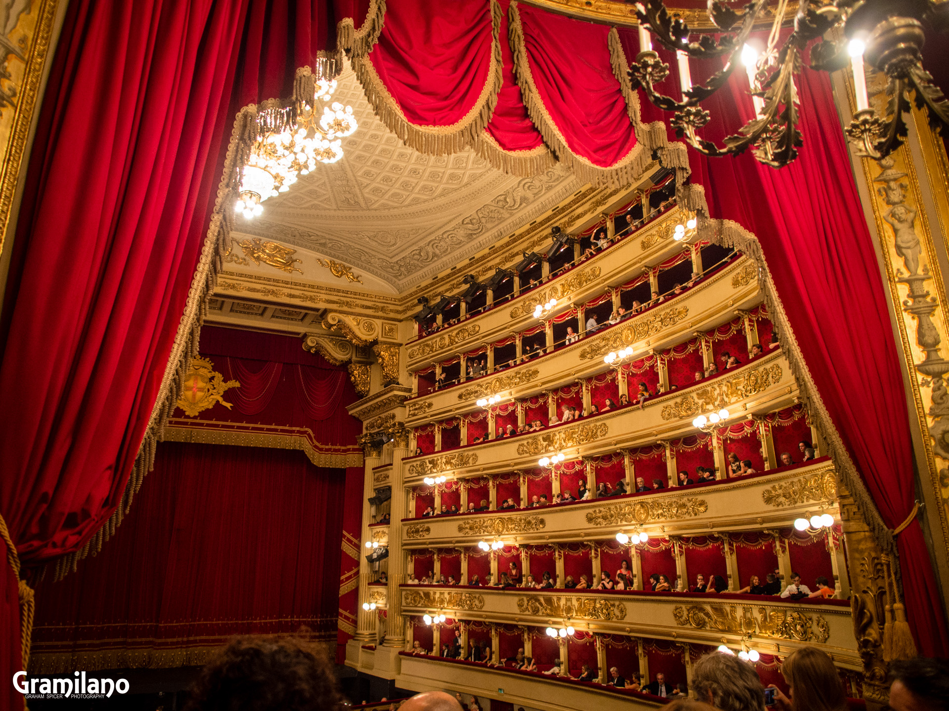 Royal Box, Teatro alla Scala, Milan